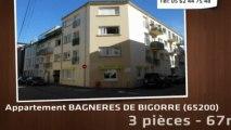 Vente - appartement - BAGNERES DE BIGORRE (65200)  - 67m²