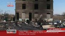 Incendie dans un campement roms (Hellemmes)
