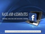 phishing scam hass and associates warning, Facebook-brukere advart gjennom falske sikkerhet siden phishing-svindel