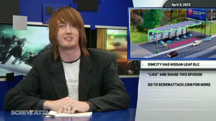 Lay-offs for Everyone, Especially LucasArts, and SimCity DLC Turns ver a Leaf - Hard News Clip