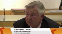 Intervention au Conseil de l'Agglomération de Montpellier