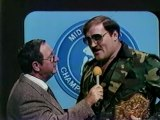 SGT SLAUGHTER INTERVIEW MID ATLANTIC CHAMPIONSHIP WRESTLING 1982