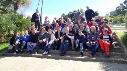 vétérans foot Montbazens sortie en Catalogne