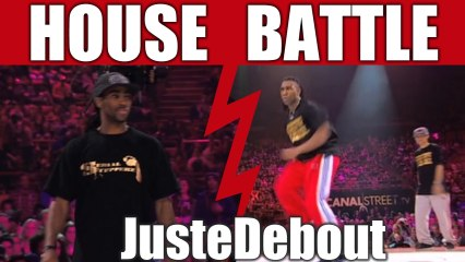House dance battle style :  King Charles & Meech vs Serge & Kapela