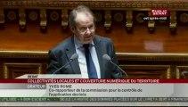 Yves Rome - intervention au Sénat sur l'aménagement numérique du territoire