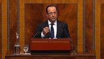 Discours du président de la République devant le Parlement marocain à Rabat