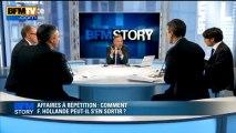 BFM STORY: Affaires à répétition, comment François Hollande peut-il s'en sortir ? - 04/04