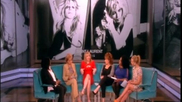 Courtney Love - The View (04/04/13)