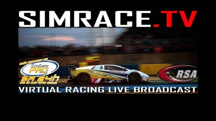 SimraceTV Logo Animation