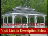 [SPECIAL DISCOUNT] 14' x 28' Vinyl Rectangular Double Roof Gazebo
