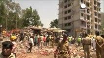 Mumbai: dozens die when unauthorised building crumbles
