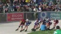 3pistes 2013/ Valence d'Agen/ Nationales dames par  élimination