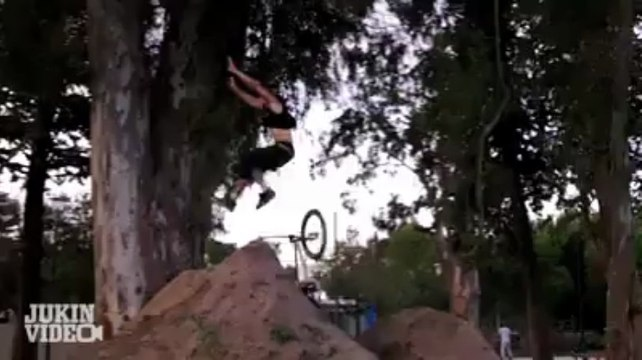Dirt Ramp Double Backflip Bike FAIL