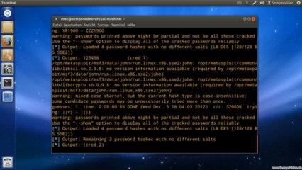 Metasploit: Postexploitation - Passwort knacken