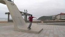 Zarautz: Freestyle Skate Sk8 BMX - Euskadi Surf TV