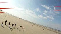 course char à voile rc camiers film quadricopter gopro