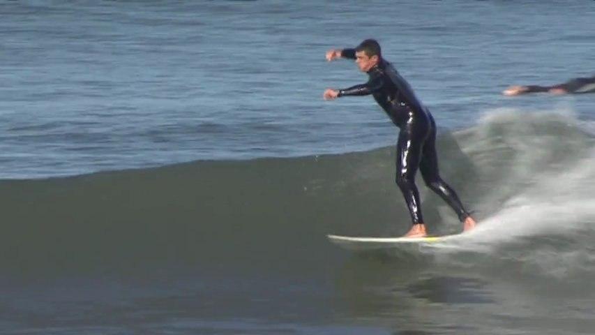 Hendaye: Surf apres une tempete - Euskadi Surf TV: