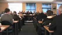 AG de Cté Communes d'Avranches - samedi 6 avril 2013 - future communauté de communes (sièges)