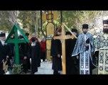 Reinhumarea poetului Radu Gyr la Manastirea Petru Voda, 2012