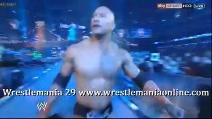 Wrestlemania 29 THE ROCK entrance video