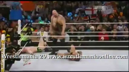 Wrestlemania 29 Big Show turns on Orton and Sheamus video