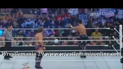 Wrestlemania 29 Fandango vs Jericho full match video