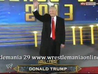 Wrestlemania 29 Hall of Fame Class 2013 video