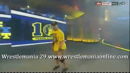 Wrestlemania 29 John Cena entrance video