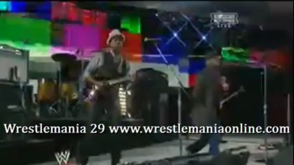 Wrestlemania 29 Living Colour performs CM PUNK entrance video