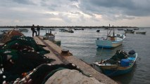 Gazans protest expansion of Israel's limits on fishing areas