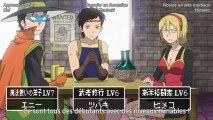 SKET Dance 64 parodie Dragon quest