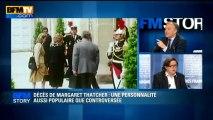 BFM STORY: Décès de Margaret Thatcher, une personnalité aussi populaire que controversée - 08/04