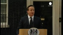 Cameron cuts short European trip and makes Downing...