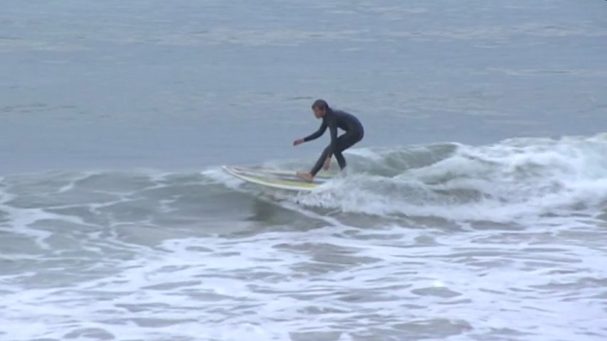 Hendaye:  Surf balnéaire cool - Euskadi Surf TV