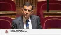 Question au gouvernement sur la Résidence Universitaire d'Antony par Philippe Kaltenbach, Sénateur-Maire de Clamart