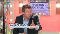 Yannick Jadot, député européen Europe-Écologie dans  Le Grand Journal - 8 avril 4/4