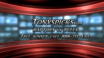 Chicago Bulls versus Toronto Raptors Pick Prediction NBA Pro Basketball Lines Odds Preview 4-9-2013