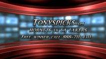 LA Lakers versus New Orleans Hornets Pick Prediction NBA Pro Basketball Odds Preview 4-9-2013