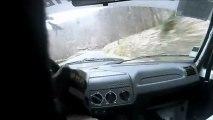 Rallye des Monts du Lyonnais ES2 embarquée Sylvain BIDAUD 205 RALLYE N1
