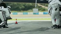BMW DTM Testdrives in Jerez - Pit stops BMW M3 DTM
