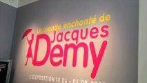 Agnes Varda à l'exposition sur Jacques Demy