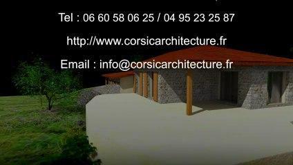 Résidence Contemporaine de 3 appartements Bio Climatique & Écologique en Corse à Propriano dans le Valinco