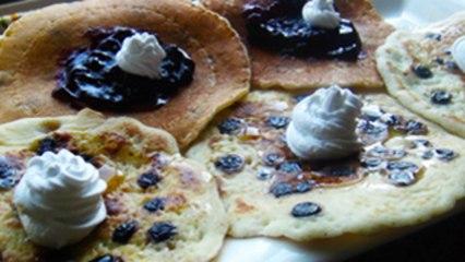 Blueberry Pancakes Recipe