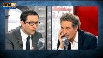 Benoît Hamon face à Jean-Jacques Bourdin sur BFM TV