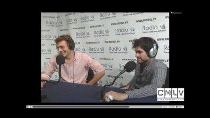L'équipe de C'est Marrant la Vie sur Radio VL 04/04/13 - Extraits