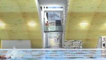 CHATEL Projet Centre Aquatique ARCANES MINOTAURE ROLAND SPITZ