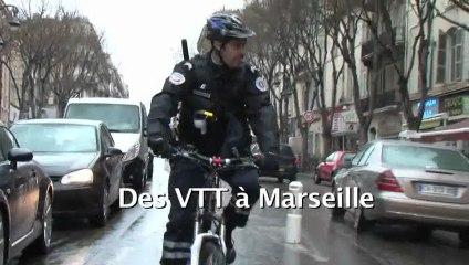 Police Nationale : Rencontre avec les Brigades VTT à Marseille.