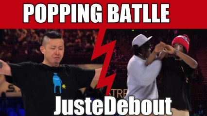 POPPING - Monsta Pop & Venom (Canada) vs Poppin J & Crazy Kyo (France) Final –