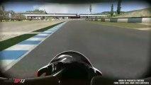 MotoGP 13 - Différents angles de caméra