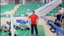Koç Fest Gezgini Muğla Sıtkı Koçman Üniversitesi Badminton takımının antremanında!